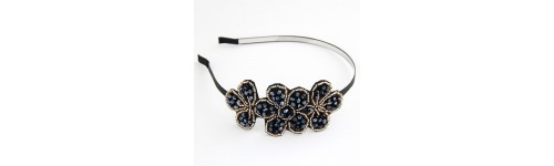 Floral Beaded Details Headband
